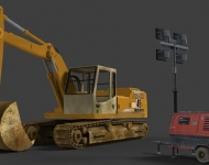 construction-site-3d-prop-models-game-objects