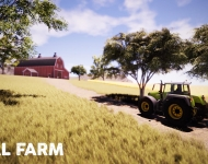 Real Farm_Screenshot_Driving to Barn_Watermarked