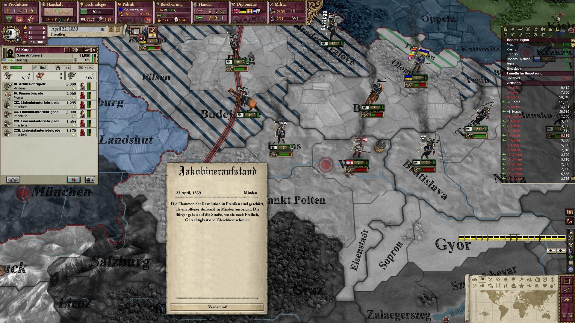 Eroberung Österreich