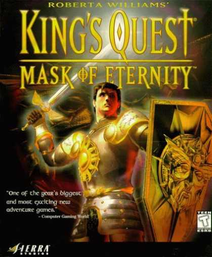 Kings Quest 8 Fixed-Mask